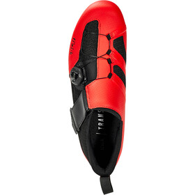 Fizik Transiro Infinito R3 Chaussures de triathlon, red/black